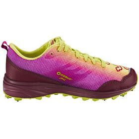 Icebug Anima5 BUGrip - Chaussures running Femme - jaune/rose